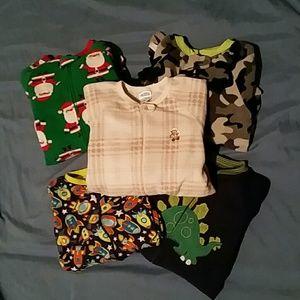3T boy sleeper bundle 💙💚